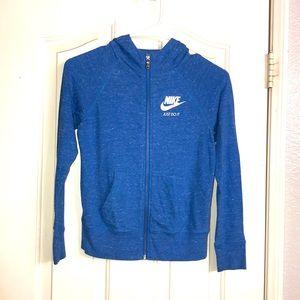 Girls Nike zip sweater-medium